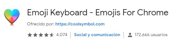 extension Emoji Keyboard